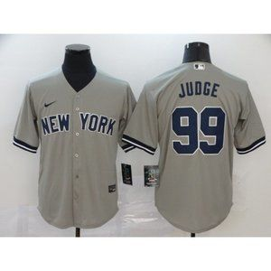 New York Yankees Aaron Judge Gray Game Jersey